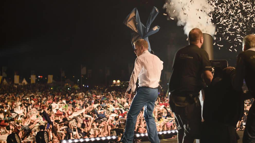 Peter Fox und eine Kanone: Seeed live beim Lollapalooza Berlin 2015
