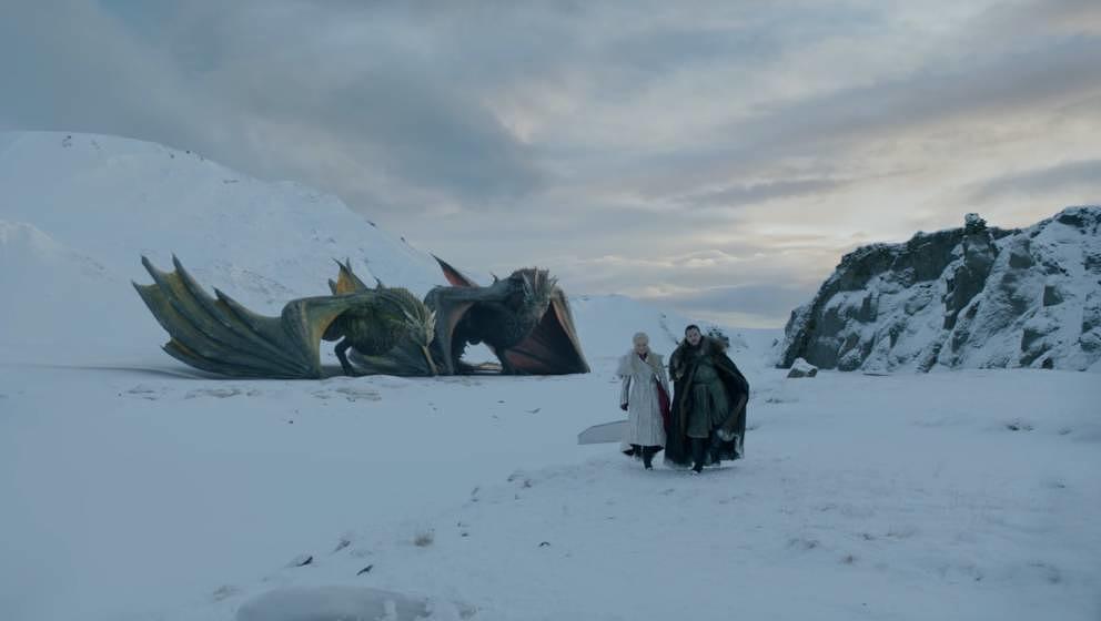 Hatten Zeit für einen kleinen Ausritt: Daenerys Targaryen und Jon Snow