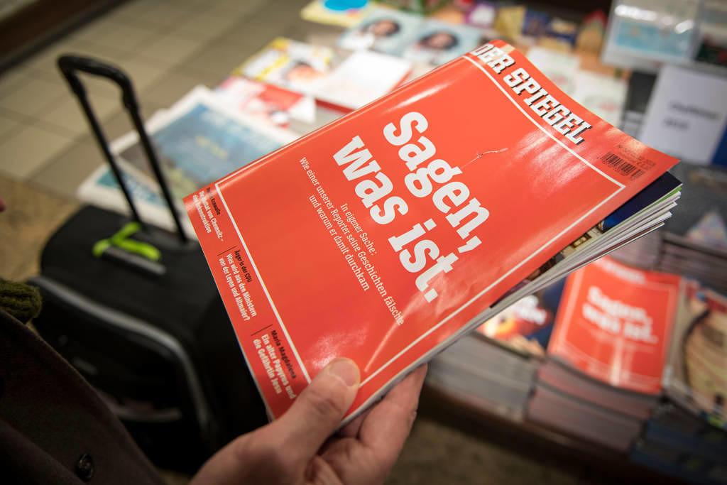 Der Spiegel deckte selbst die Fälschungen ihres Journalisten Claas Relotius auf.