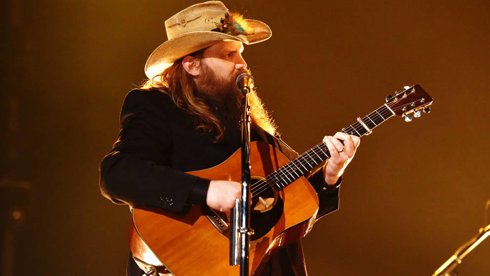 "Chris Stapleton bei den ""54th Academy Of Country Music Awards"" am 7. April 2019 in Las Vegas, Nevada."