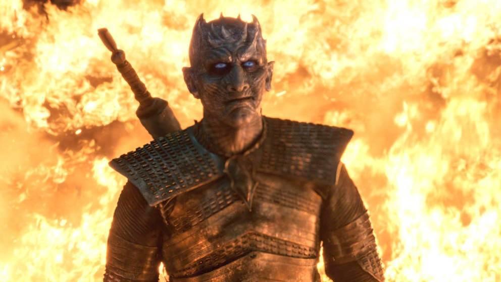 """Hat zwischendurch gut lachen: der Night King in der der dritten Folge der achten Staffel """"Game of Thrones"""""""