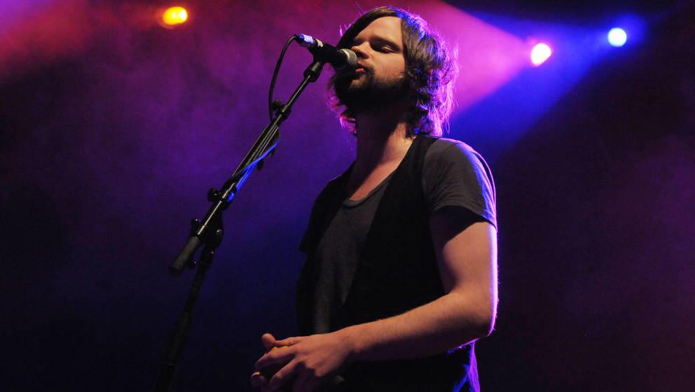 The Futureheads' Dave Hyde bei einem Auftritt im September 2012