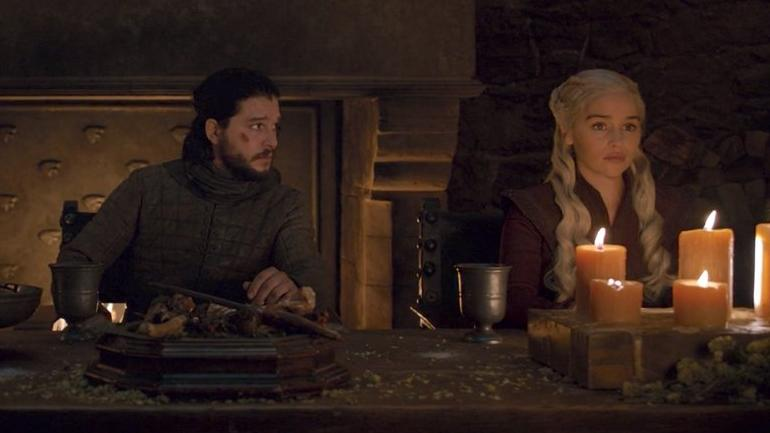 Jon Snow und Daenerys Targaryen