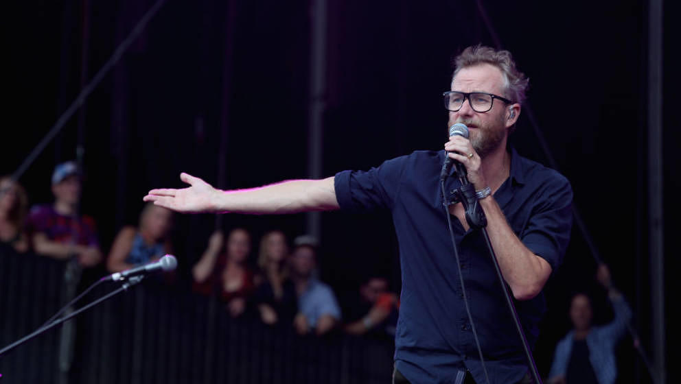 AUSTIN, TEXAS - OCTOBER 12:  Matt Berninger of The National performs in concert during the second weekend of the ACL Music Fe