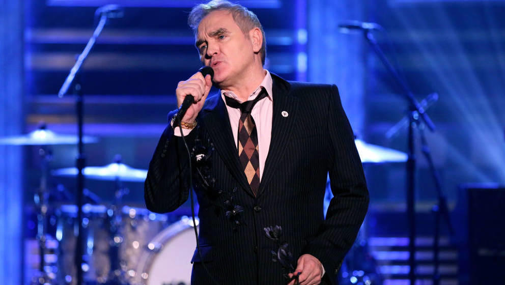 THE TONIGHT SHOW STARRING JIMMY FALLON -- Episode 1067 -- Pictured: Musical guest Morrissey performs on May 13, 2019 -- (Phot