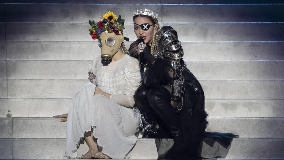 Darüber wurde in den vergangenen Tagen viel diskutiert: Madonnas Auftritt beim ESC 2019 in Tel Aviv