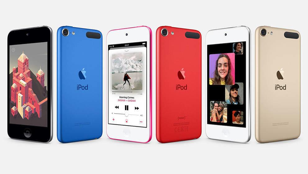 Apple hat den iPod touch neu aufgelegt