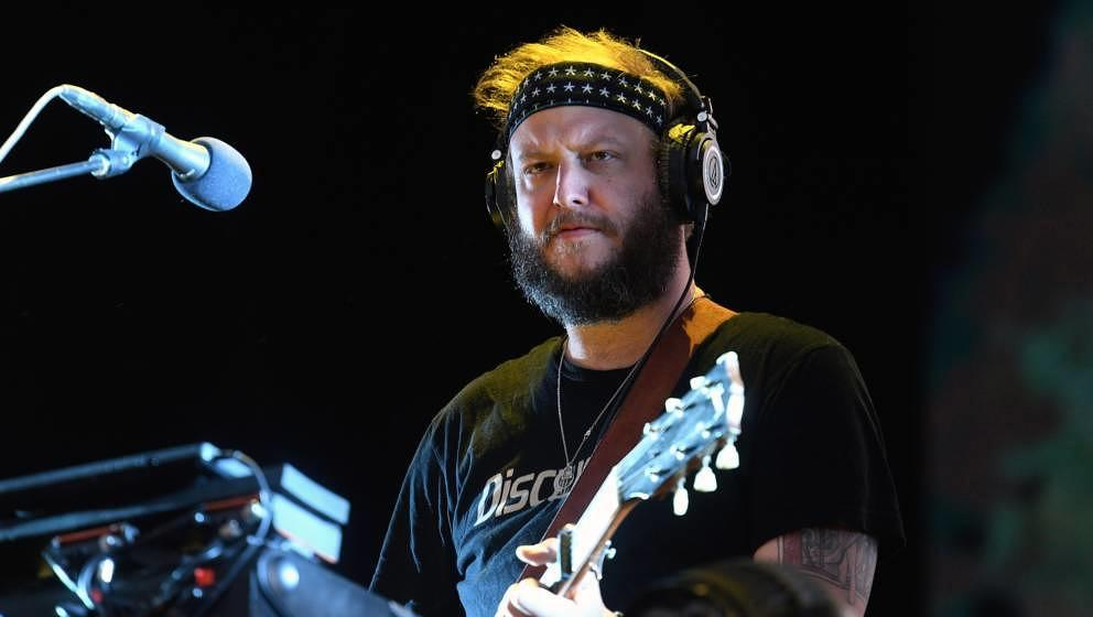 Bon Ivers Justin Vernon live beim All Points East Festival am 2. Juni 2019 in London