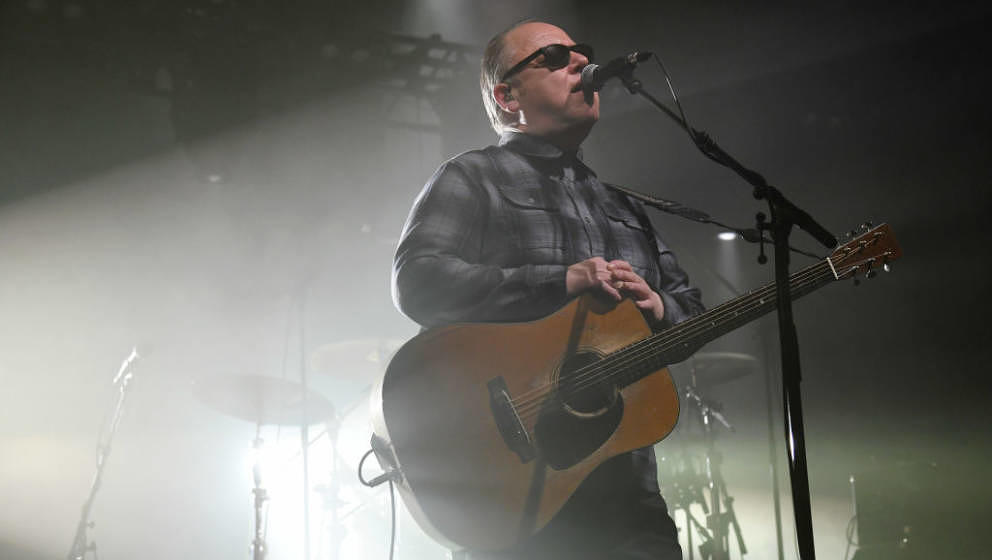LAS VEGAS, NEVADA - APRIL 12:  Frontman Black Francis of the band Pixies performs at the Mandalay Bay Events Center on April
