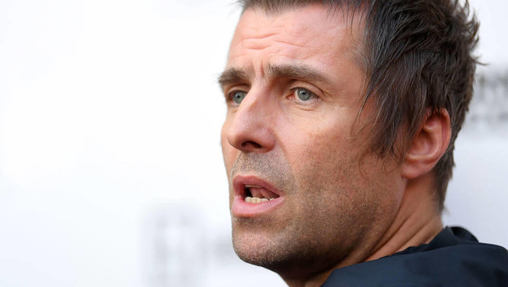LONDON, ENGLAND - JUNE 06: Liam Gallagher attends the World Premiere of 'Liam Gallagher: As It Was' at Alexandra Palace on Ju