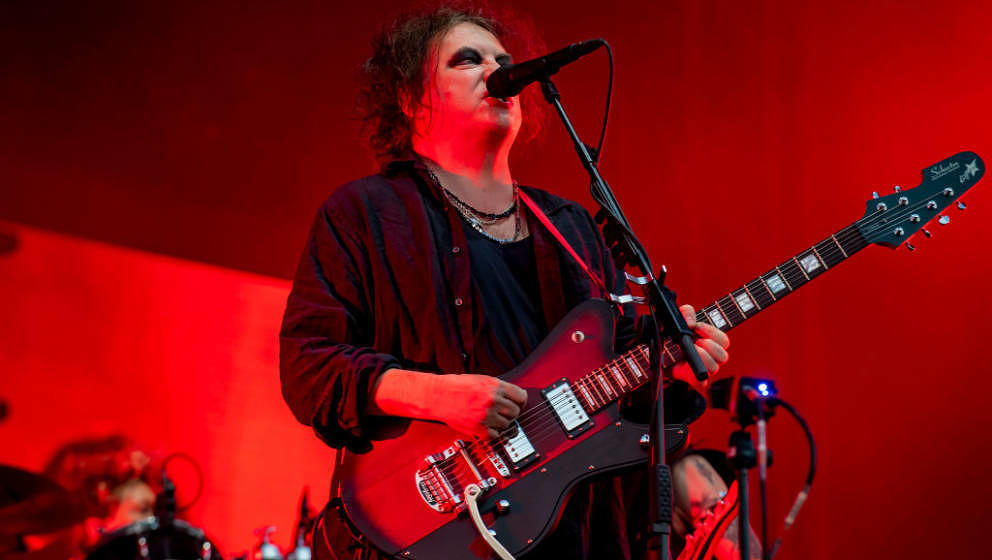 FLORENCE, ITALY - JUNE 15: Robert Smith of The Cure performs during the Firenze Rocks Festival 2019 at Visarno Arena on June