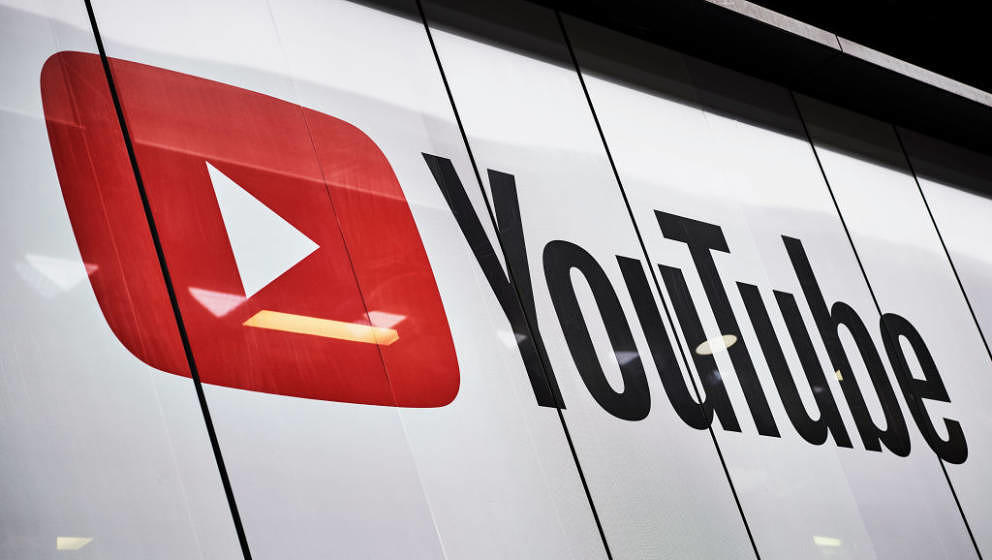 LONDON, UNITED KINGDOM - JUNE 4: Detail of the YouTube logo outside the YouTube Space studios in London, taken on June 4, 201