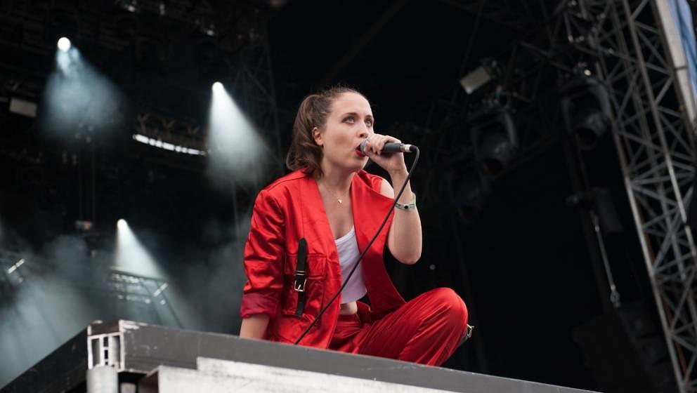 21.06.2019, Eichenring , Scheessel, GER, Festival, Konzert,Hurricane, Band  im Bild'ALICE MERTON'live auf der River Stage b