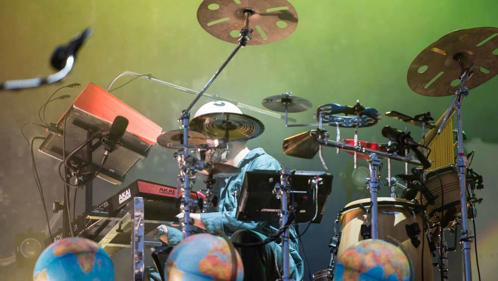 21.06.2019, Eichenring , Scheessel, GER, Festival, Konzert,Hurricane, Band  im Bild'BILDERBUCH'live auf der River Stage bei