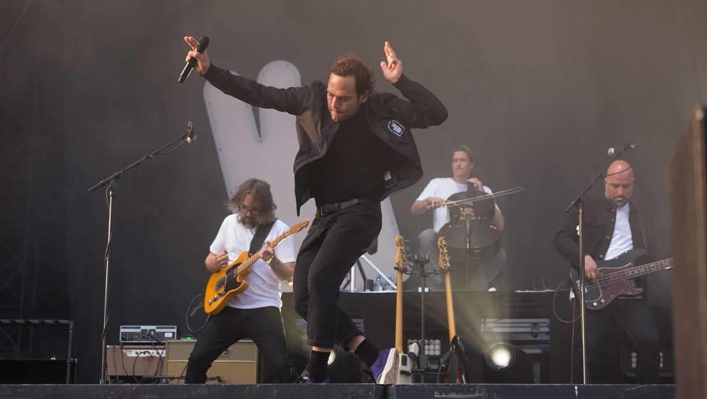 21.06.2019, Eichenring , Scheessel, GER, Festival, Konzert,Hurricane, Band  im Bild'BOSSE'live auf der River Stage beim Hur