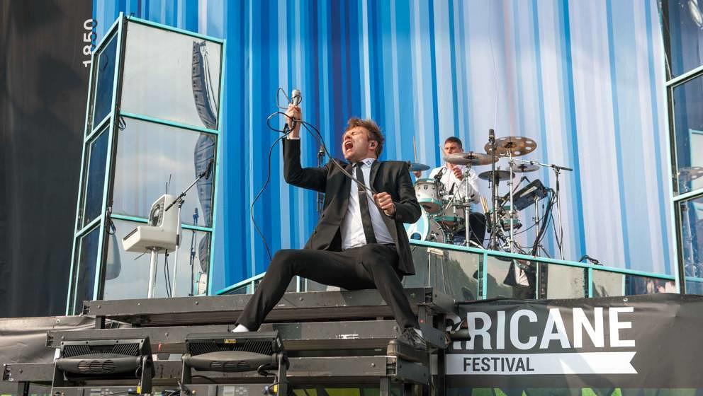 21.06.2019, Eichenring , Scheessel, GER, Festival, Konzert,Hurricane, Band  im Bild'ENTER SHIKARI'live auf der Forest Stage