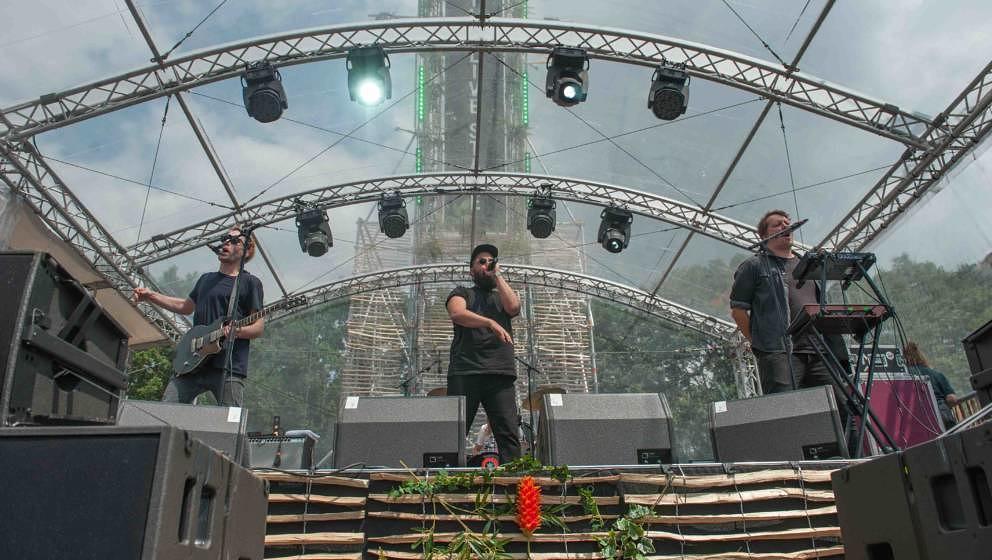 21.06.2019, Eichenring , Scheessel, GER, Festival, Konzert,Hurricane, Band  im Bild'FRITTENBUDE' live auf der Wild-Live-Stag