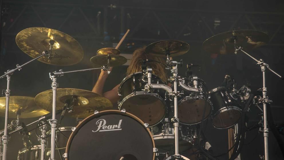 21.06.2019, Eichenring , Scheessel, GER, Festival, Konzert,Hurricane, Band  im Bild'PARKWAY DRIVE'live auf der Forest Stage