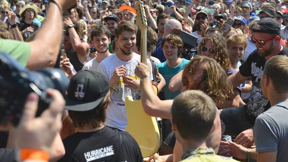 Idles beim Hurricane Festival 2019