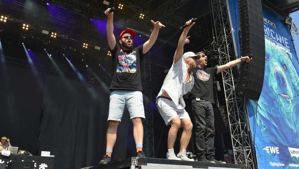 Fünf Sterne Deluxe beim Hurricane Festival 2019