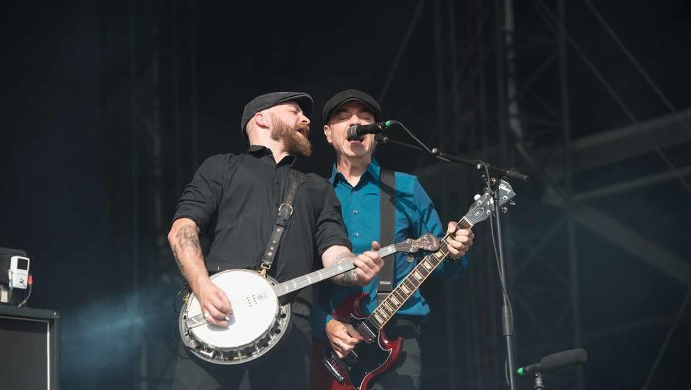 22.06.2019, Eichenring , Scheessel, GER, Festival, Konzert,Hurricane, Band  im Bild'FLOGGING MOLLY'live auf der Forest Stag