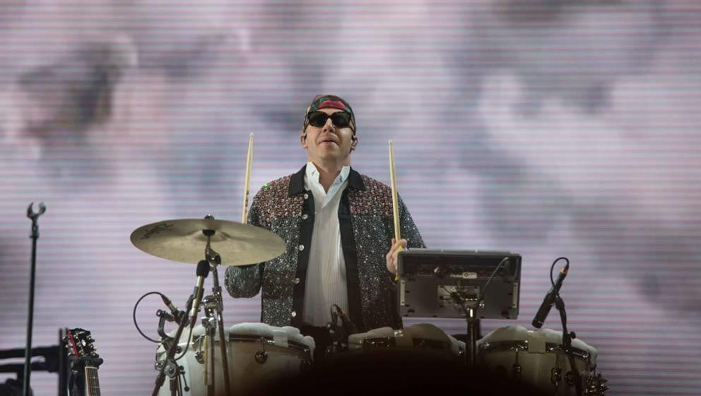 22.06.2019, Eichenring , Scheessel, GER, Festival, Konzert,Hurricane, Band  im Bild'MACKLEMORE'live auf der River Stage bei