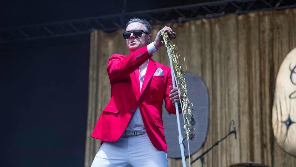 22.06.2019, Eichenring , Scheessel, GER, Festival, Konzert,Hurricane, Band  im Bild'ME FIRST AND THE GIMME GIMMES'live auf