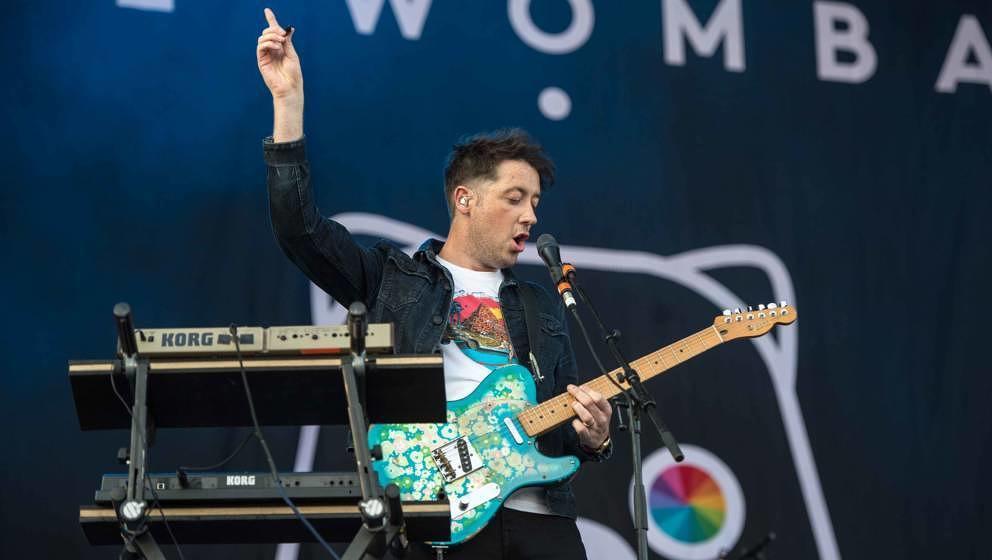 22.06.2019, Eichenring , Scheessel, GER, Festival, Konzert,Hurricane, Band  im Bild'THE WOMBATS'live auf der River Stage be