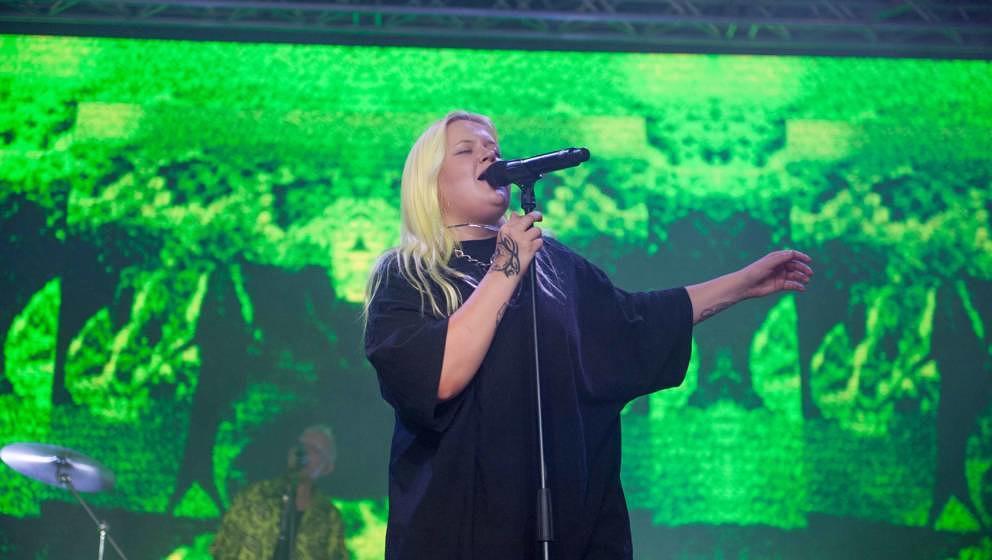 23.06.2019, Eichenring , Scheessel, GER, Festival, Konzert,Hurricane, Band  im Bild'ALMA'live auf der Coast Stage beim Hurr
