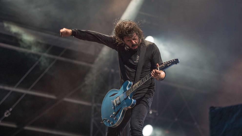 23.06.2019, Eichenring , Scheessel, GER, Festival, Konzert,Hurricane, Band  im Bild'FOO FIGHTERS'live auf der Forest Stage