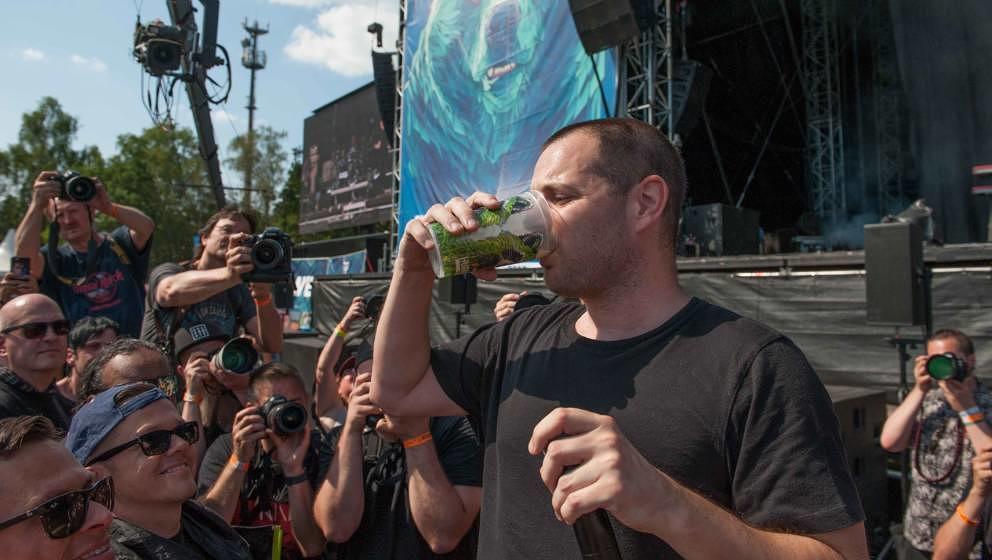 23.06.2019, Eichenring , Scheessel, GER, Festival, Konzert,Hurricane, Band  im Bild'THE STREETS'live auf der River Stage be