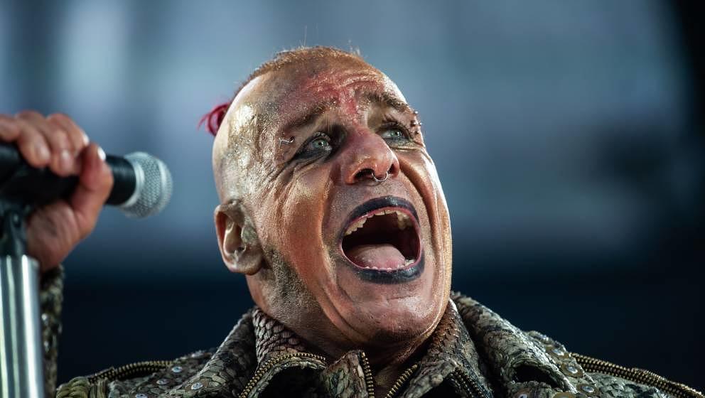 Rammsteins Till Lindemann in Hannover