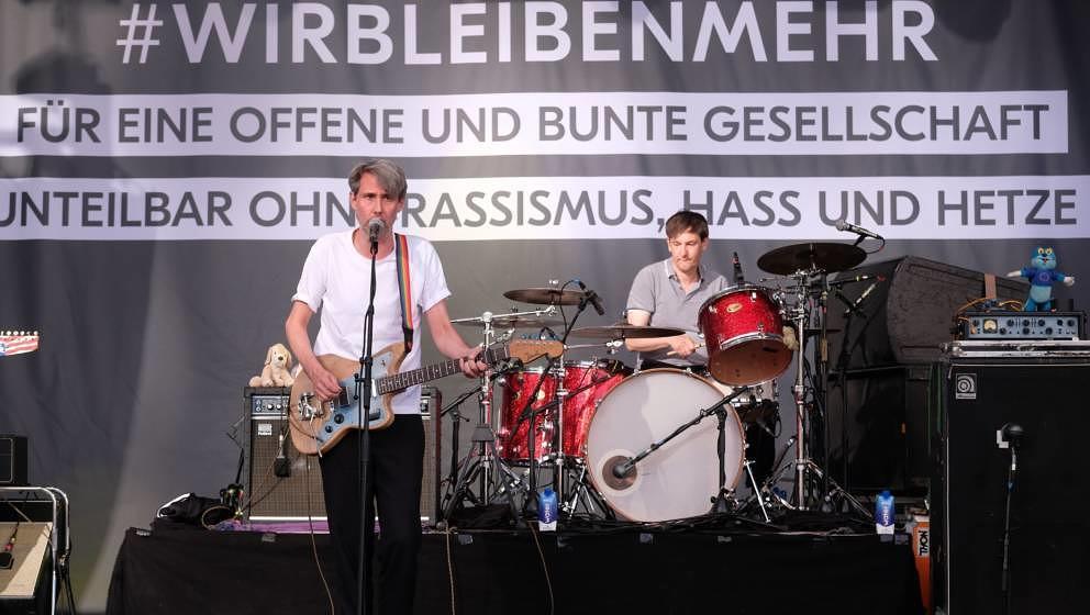 """Tocotronic beim """"Kosmos Chemnitz - Wir bleiben mehr"""" -Festival"""