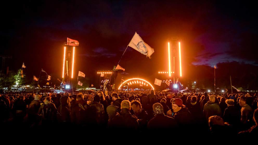Ein Blick auf das Roskilde Festival 2019.