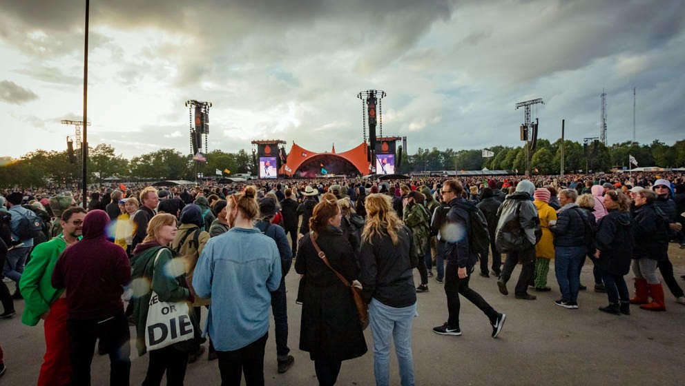 Das Roskilde Festival lebt von begeisterten Musikliebhabern und engagierten freiwilligen Helfern.