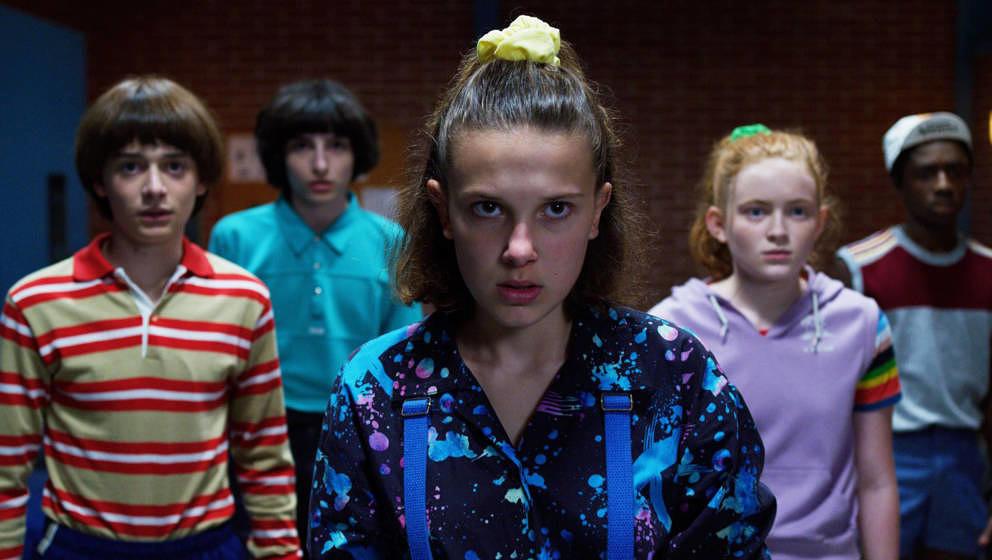 """Müssen die Welt und ihre Freundschaft retten: Will, Mike, Eleven, Max und Lucas in """"Stranger Things 3"""""""