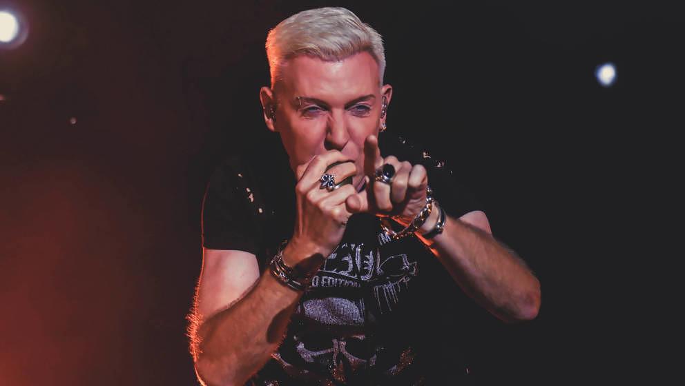 H.P. Baxxter von Scooter beim Kosmonaut Festival 2019.
