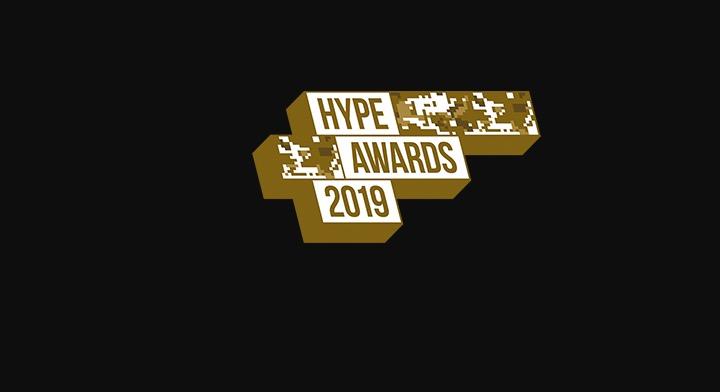 Logo vom Hype Award 2019. Die Veranstalter tun anscheinend alles dafür, dass Ihr Award im Nachhinein digital verschwiegen wird – offizielle Fotos gibt es trotz Anfrage keine. Auch die Videos wurden gelöscht, siehe unten.