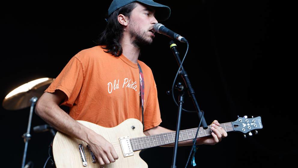 FARNHAM, DORSET - SEPTEMBER 01:  (Sandy) Alex G performs at End Of The Road Festival at Larmer Tree Gardens on September 1, 2