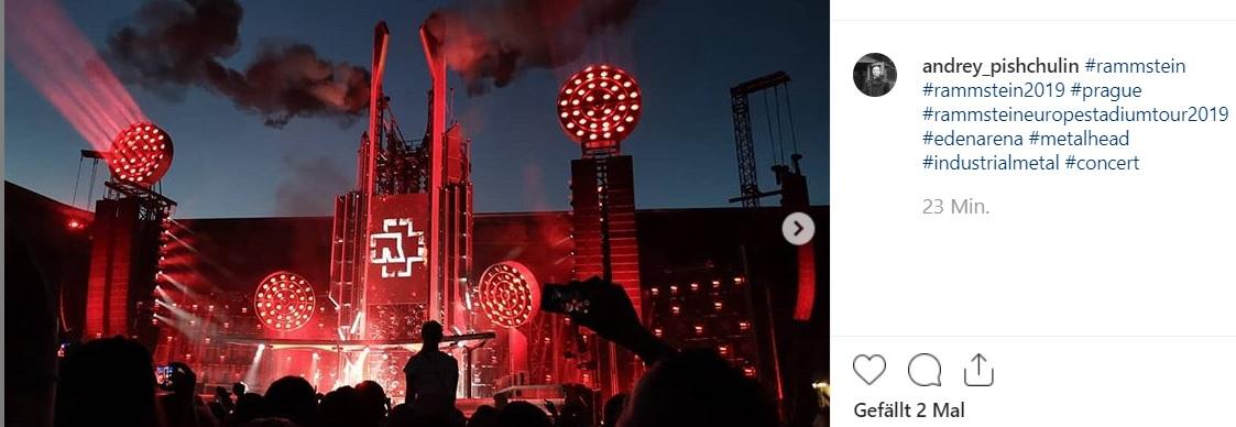 Rammstein live in Prag 2019: Fotos, Videos, Setlist vom