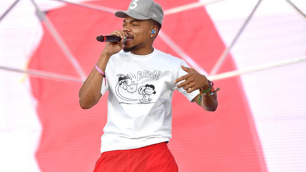 Chance the Rapper auf dem Coachella Festival 2018 in Indio, Kalifornien