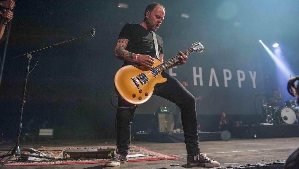 18.07.2019, Seeflughafen , Cuxhaven/Nordholz, GER, Festival, Konzert, Deichbrand, Band  im Bild 'DIE HAPPY'live im Palastzel