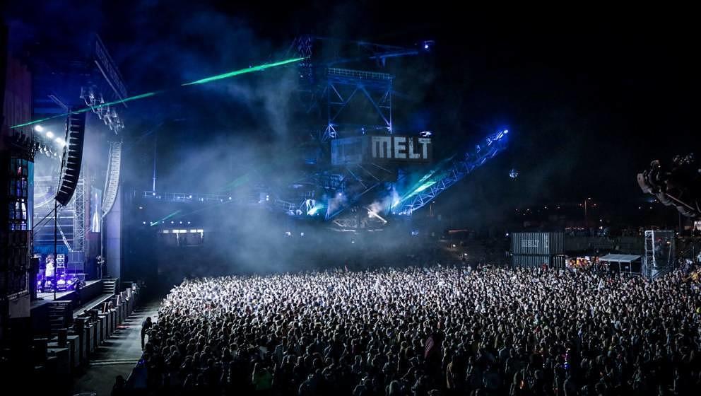 So schön war es beim diesjährigen Melt Festival.