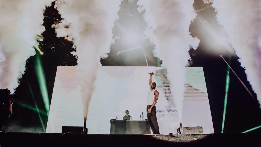 Stormzy beim diesjährigen Melt Festival.