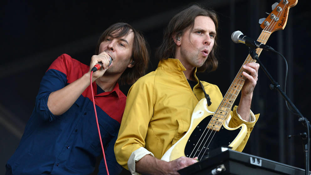 Phoenix auf dem Gandoozy Music Festival im September 2018