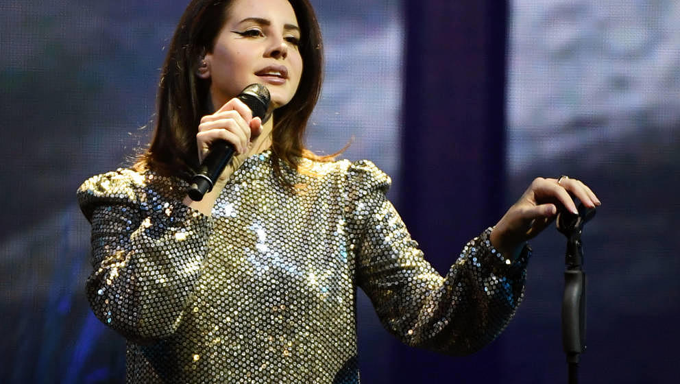Lana Del Rey auf ihrer LA to the Moon-Tour 2018 in Las -Vegas