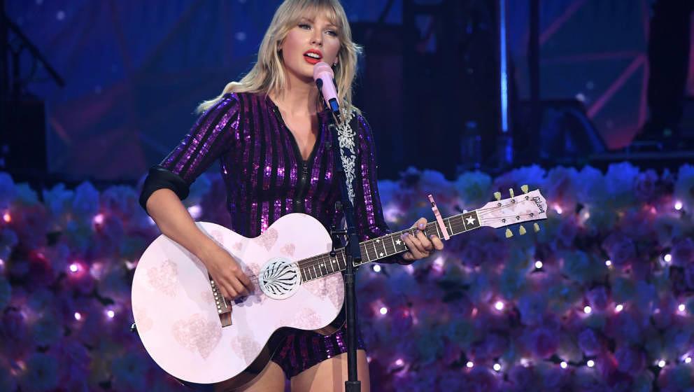 Taylor Swift bei einem Auftritt im Juli 2019 in New York