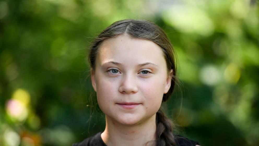Greta Thunberg in Paris im Juli 2019