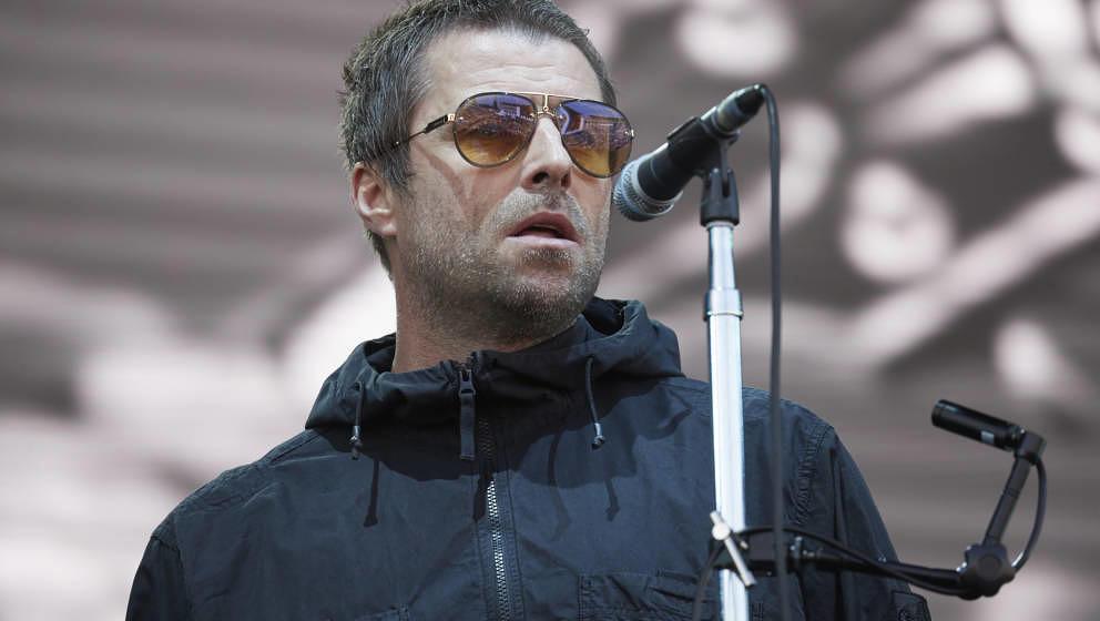 Liam Gallagher auf dem Lollapalooza Festival in Berlin im September 2018