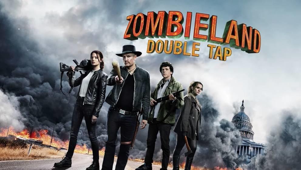 """Für die Protagonisten der """"Zombieland""""-Fortsetzung ist das Beseitigen Untoter inzwischen zur Routine geworden."""